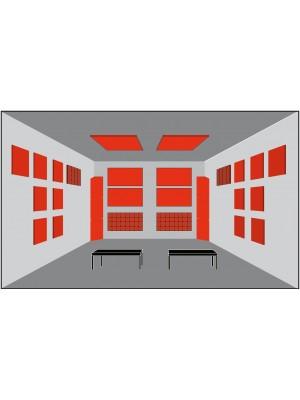 Basotect® Akustika - pre izbu > 20 m2