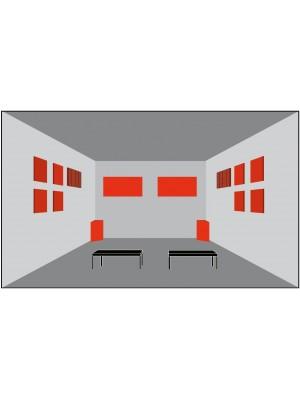 Basotect® Akustika - pre izbu > 10 m2