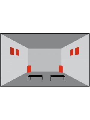 Basotect® Akustika - štartovací set < 10 m2